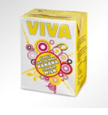 Viva Flavoured Milk Banana