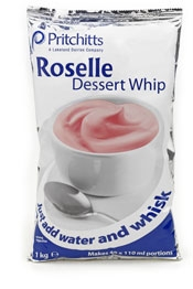 Roselle Dessert Whip Strawberry