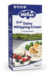 Millac Real Dairy Whipping Cream