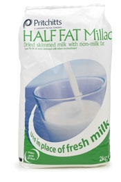 Half-Fat Millac Milk Powder