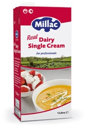 Millac Real Dairy Single Cream