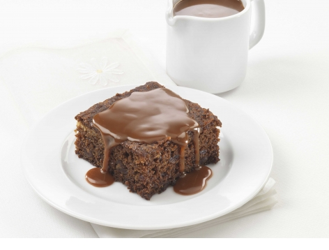 Sticky Toffee Pudding (Fortified Recipe for Care Homes