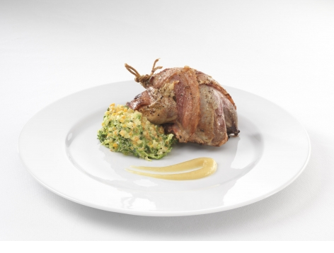 Roasted Grouse & Victorian Cabbage
